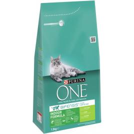Sac de croquettes pour chat d'intérieur One Bifensis Sterilcat 1,5 kg PURINA