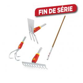 Set d'outils avec manche interchangeable 140 cm WOLF-GARTEN