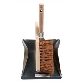 Pelle à poussière métallique avec épousette en coco AVR-TOOLS