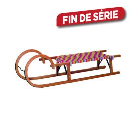 Luge en bois avec assise textile AVR-TOOLS