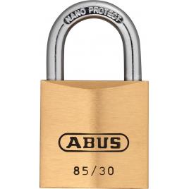 Cadenas à clé en laiton série 85 30 x 51 mm ABUS
