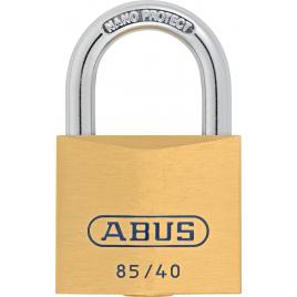 Cadenas à clé en laiton série 85 40 x 79 mm ABUS