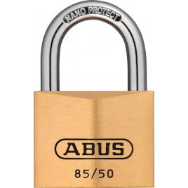 Cadenas à clé en laiton série 85 50 x 77 mm ABUS
