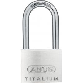 Cadenas à clé en titalium avec anse haute 40 x 40 mm ABUS