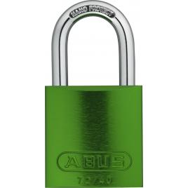 Cadenas à clé en aluminium série 72 40 mm vert ABUS