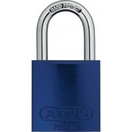 Cadenas à clé en aluminium série 72 40 mm bleu ABUS