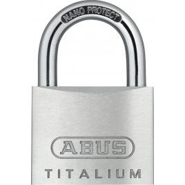 Cadenas à clé en titalium 45 x 68 mm ABUS
