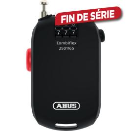 Câble antivol Combiflex à enroulement automatique 65 cm ABUS