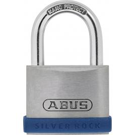 Cadenas à clé en zinc Silver Rock 40 mm ABUS