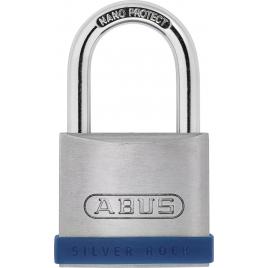 Cadenas à clé en zinc Silver Rock 45 mm ABUS