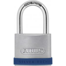 Cadenas à clé en zinc Silver Rock 50 mm ABUS