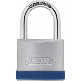 Cadenas à clé en zinc Silver Rock 55 mm ABUS