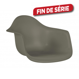 Assise Orsa 42 x 62 x 60 cm taupe PRACTO HOME