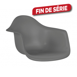 Assise Orsa 42 x 62 x 60 cm anthracite PRACTO HOME