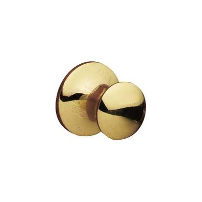 Bouton en laiton poli Ø 15 mm doré LINEA BERTOMANI