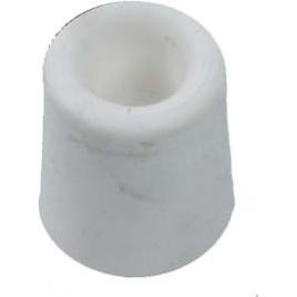 Arrêt de porte en caoutchouc Ø 25 mm blanc 2 pièces LINEA BERTOMANI
