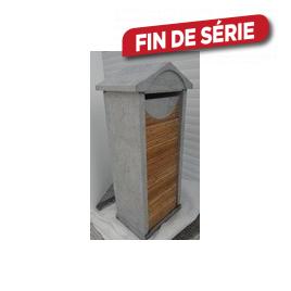 Boîte aux lettres Design Combi - Bambou