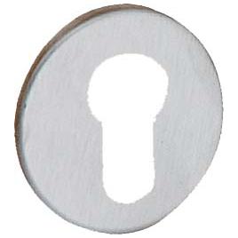 Entrée pour cylindre en acier inoxydable 2 pièces LINEA BERTOMANI