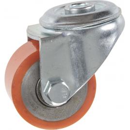 Roulette à oeil en polyuréthane pour charge lourde Ø 50 mm