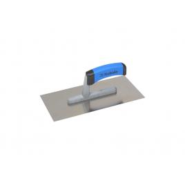 Plâtresse en acier inoxydable avec poignée en plastique 27 x 13 cm