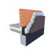 Panneau isolant en PIR - XTRATHERM CW-L - 1200 x 600 mm - 82 mm