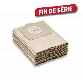 Sachet filtre papier pour aspirateur KÄRCHER