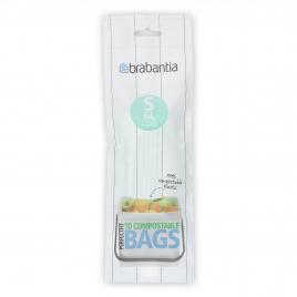 Rouleau de sacs poubelle biodégradables 6 L BRABANTIA