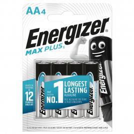 Pile alcaline AA Max Plus 1,5 V 4 pièces ENERGIZER