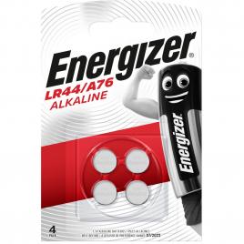 Pile bouton alacaline LR44/A76 1,5 V 4 pièces ENERGIZER