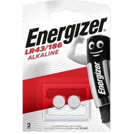 Pile bouton alcaline LR43/186 1,5 V 2 pièces ENERGIZER
