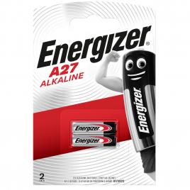 Pile alcaline A27 12 V 2 pièces ENERGIZER