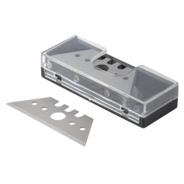 Lame trapézoïdale pour cutter 52 x 0,65 mm 10 pièces WOLFCRAFT