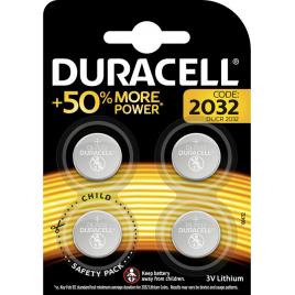 Pile bouton au lithium DL2032 4 pièces DURACELL