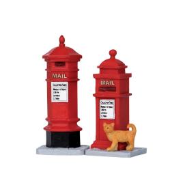 Set de figurines boîtes au lettre Victorien 2 pièces LEMAX