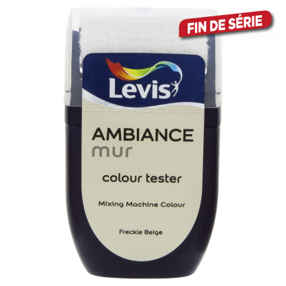 Testeur peinture murale Ambiance freckle beige 30 ml LEVIS
