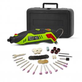 Mini perceuse CPRE135-40 avec 40 accessoires 130 W CONSTRUCTOR