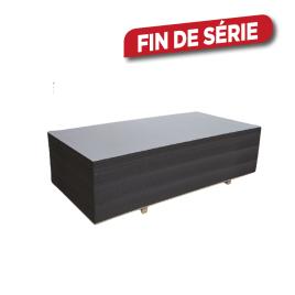 Palette 40 Panneaux MDF noir 244 x 122 x 1,8 cm (livraison à domicile)