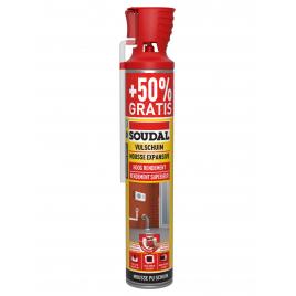 Mousse expansive PU Genius 500 ml + 250 ml SOUDAL