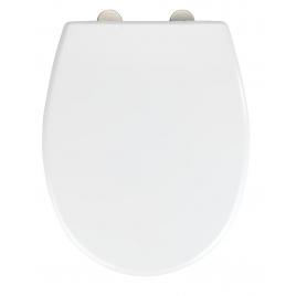 Abattant de toilette Vorno blanc WENKO