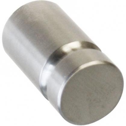 Bouton rond en acier inoxydable Ø 14 mm LINEA BERTOMANI
