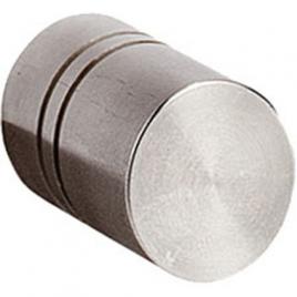 Bouton rond en acier inoxydable Ø 17 mm LINEA BERTOMANI