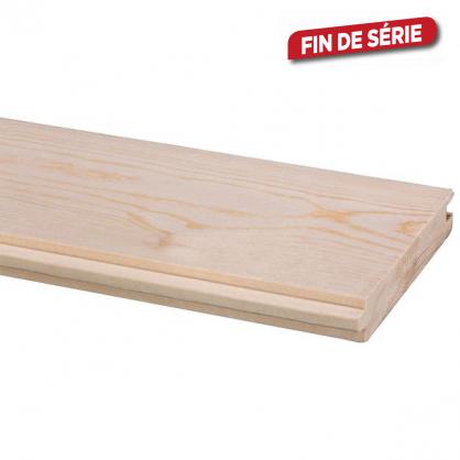 Plancher en sapin massif 240 x 9 x 1,8 cm 5 pièces