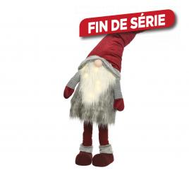 Père Noël animé LED 120 cm LUMINEO