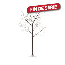 Arbre enneigé LED 125 cm LUMINEO
