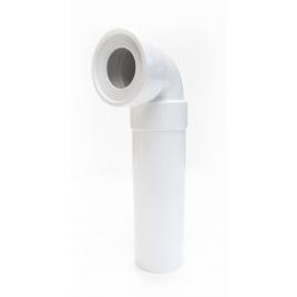 Coude pour raccord de toilette ? 110 mm