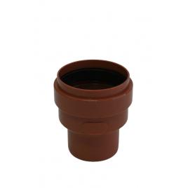 Passe égout pour grès PVC Ø 110-138 mm rouge