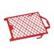 Grille d'essorage en plastique rouge 12 x 18 cm COLOR EXPERT