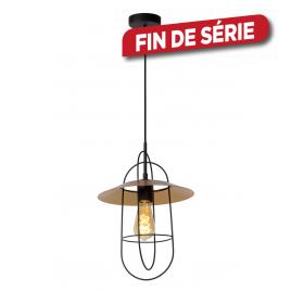 Suspension dorée Masson E27 40 W dimmable LUCIDE