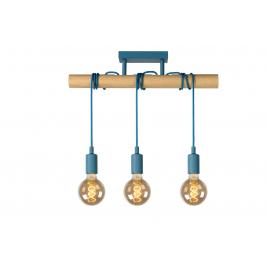 Suspension bleue Paulien E27 180 W dimmable LUCIDE