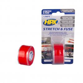 Adhésif Stretch & Fuse Rouge 3 m HPX
